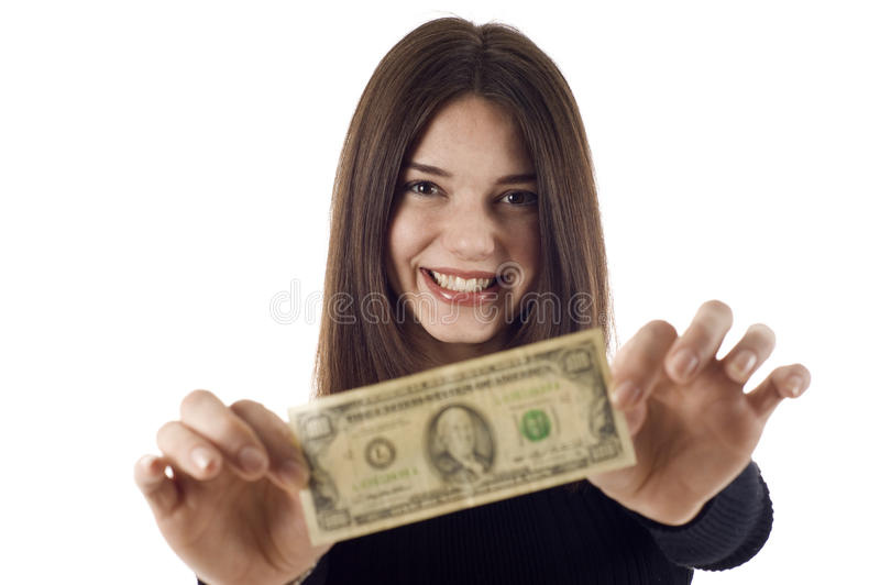 Show Me the Money! royalty free stock image