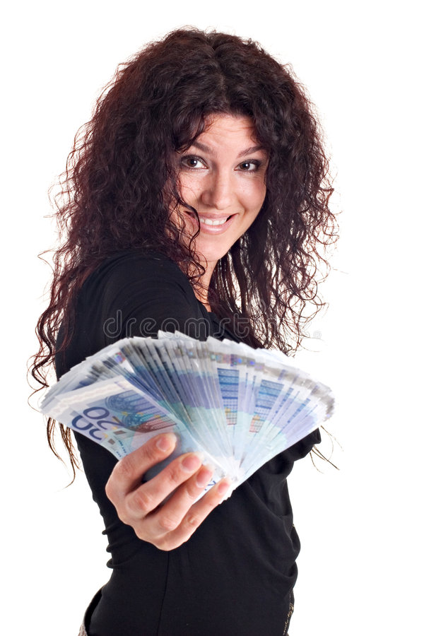 Download Show me the money stock image. Image of euro, finance - 2434173