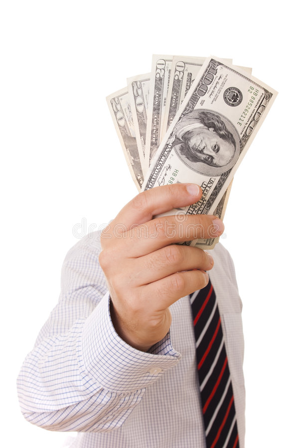 Show me the money royalty free stock images