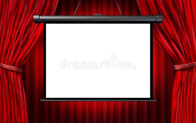 Show Screen Stock Illustration Illustration Of Theatre