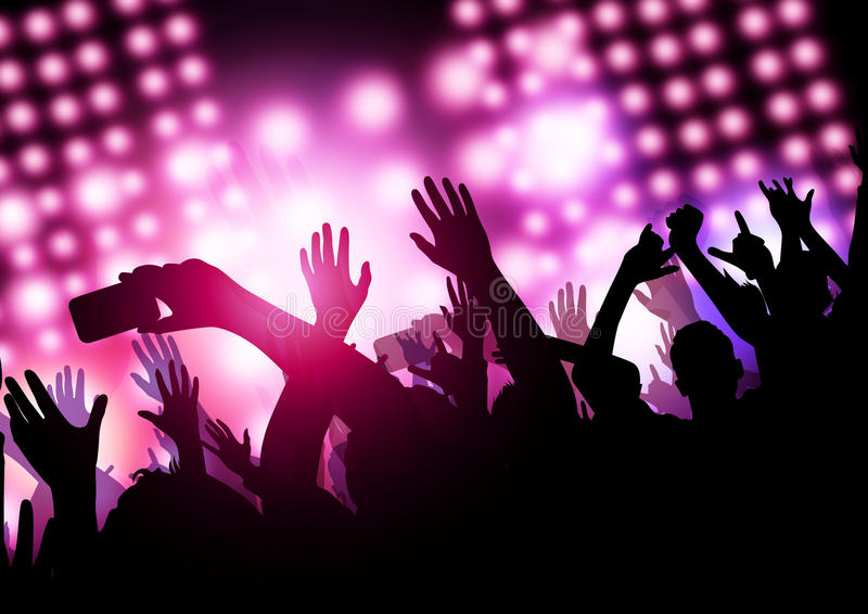 Show Time (Concert) stock illustration