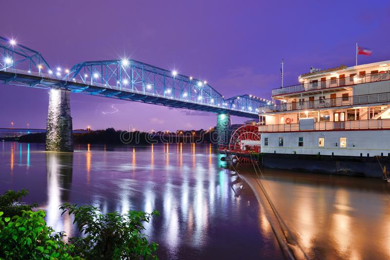 Showboat en Chattanooga fotos de archivo libres de regalías