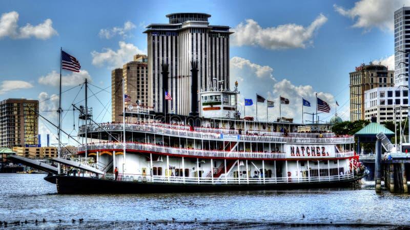 Showboat Natchez стоковые фотографии rf