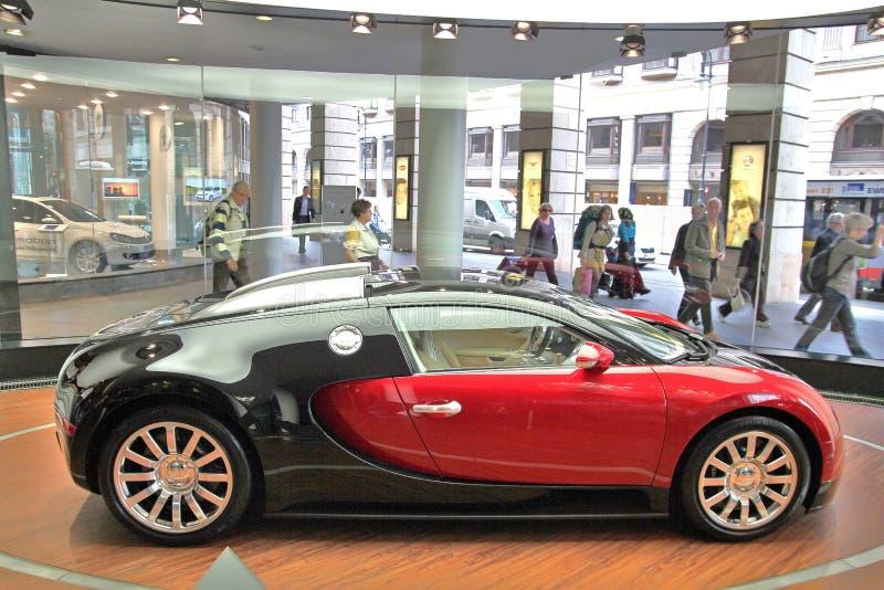 Showcar Bugatti Veyron fotografia stock