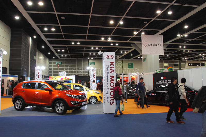 Showcase mega 2011 de Hong Kong fotos de stock