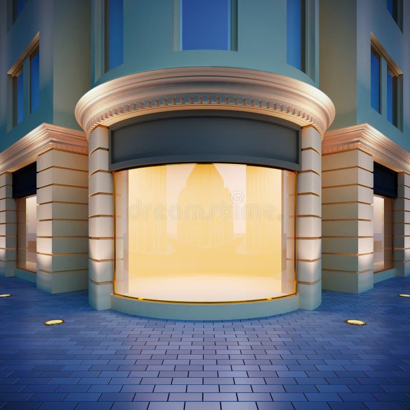 Showcase no estilo clássico. ilustração royalty free
