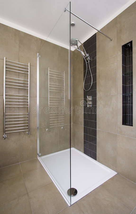 Download Shower stock image. Image of luxury, home, indoors, interior - 4638413