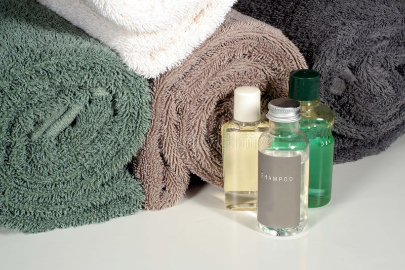 Download Shower Amenities Royalty Free Stock Images - Image: 1776019
