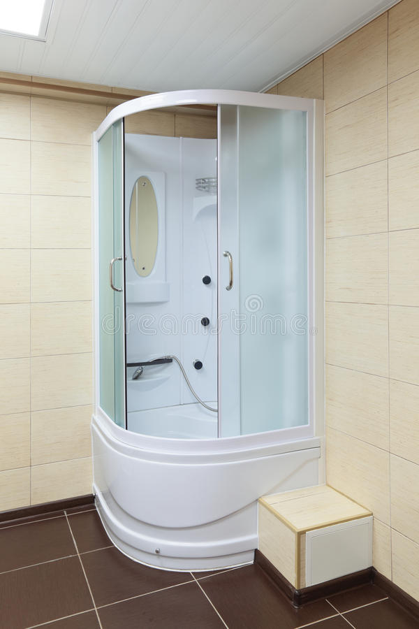 Download Shower cabin stock photo. Image of mirror, household - 23584100