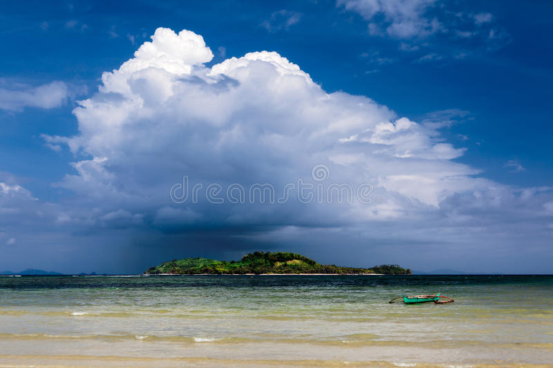 Shower cloud stock photography