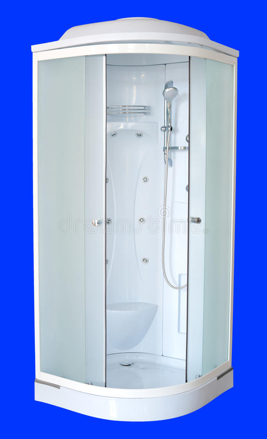 Shower cubicle stock image. Image of seat, open, frosted - 20317835