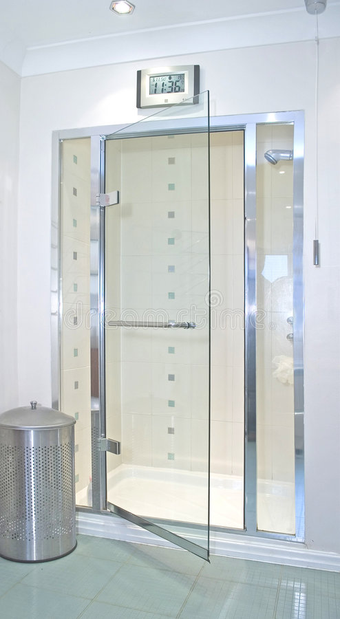 Shower Cubicle stock photo