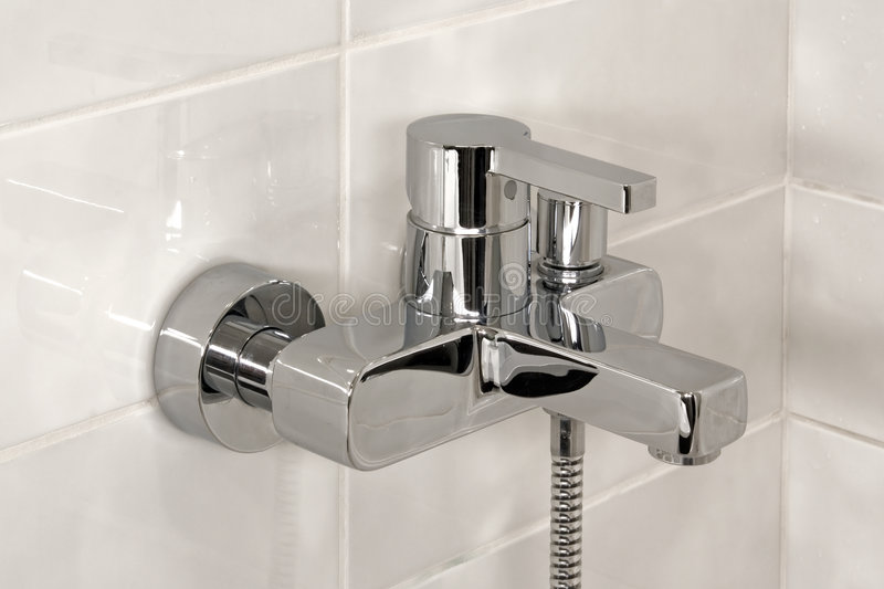 Shower Faucet Royalty Free Stock Photography
