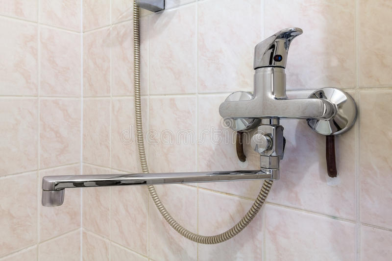 Shower Faucet stock image
