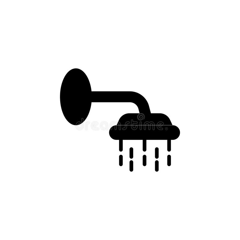 Shower Icon. Bathroom And Sauna Element Icon. Premium Quality ...