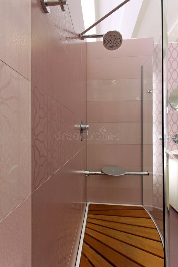 Shower inside royalty free stock photo