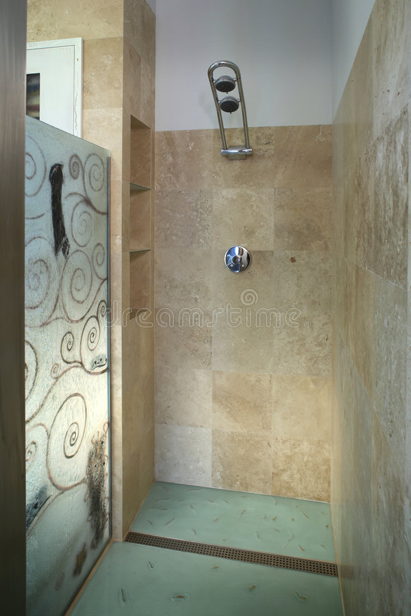 Download Shower room stock photo. Image of elements, interiors - 4410860