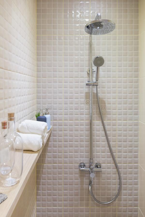 Shower room royalty free stock photos