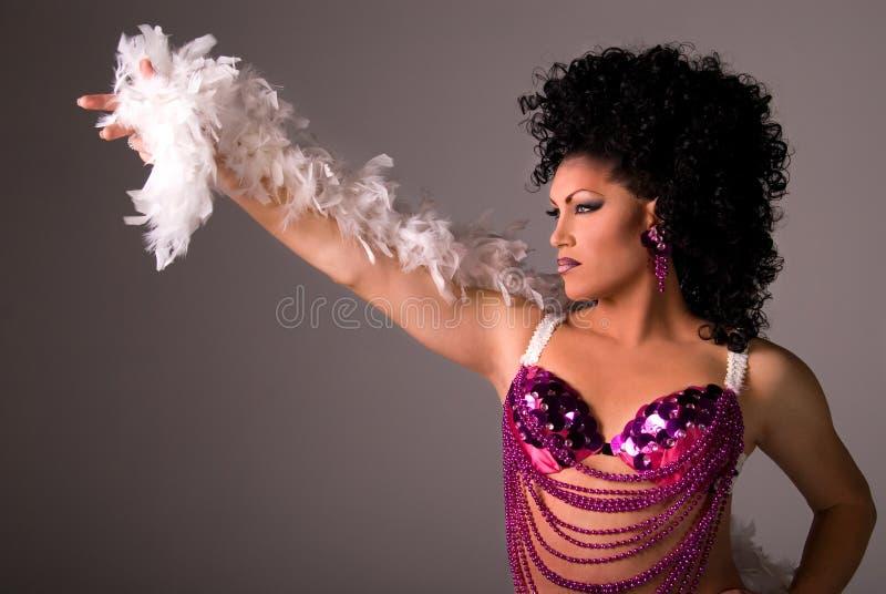 Showgirl. royalty-vrije stock foto