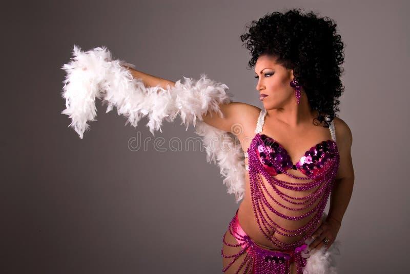 Showgirl. stock foto's