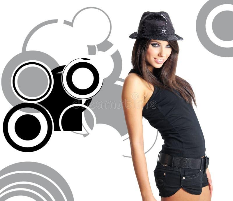 Showgirl immagine stock