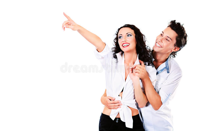 Download Showing couple stock image. Image of attractive, cheerful - 26415215