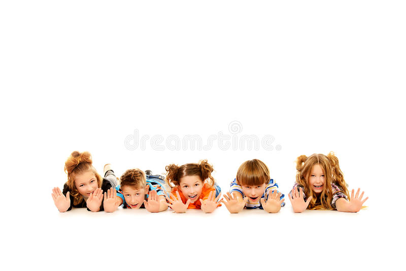 Download Showing palms stock photo. Image of laughing, adolescent - 41248272