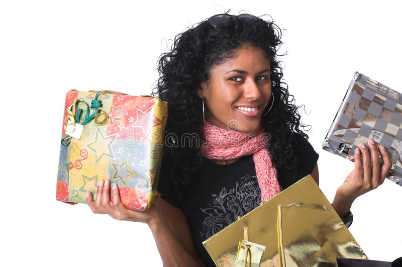 Download Showing The Presents Royalty Free Stock Photos - Image: 1712608