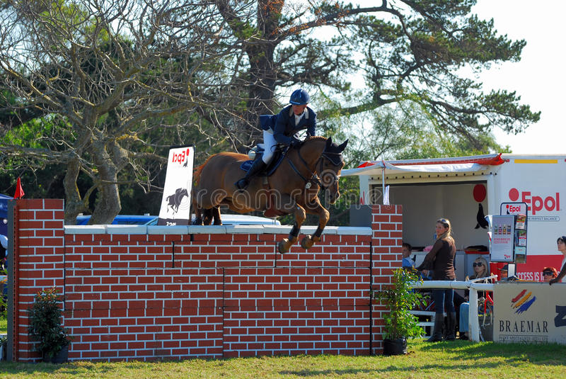 Showjumping royalty free stock photography