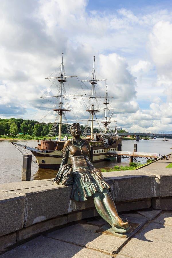 Showplace Veliky Novgorod, Rosja obraz stock