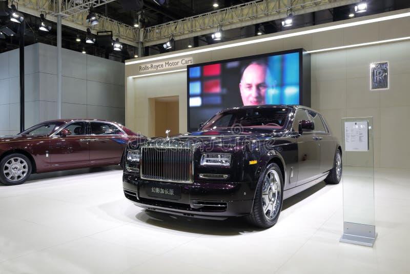 Showroon de Rolls royce imagens de stock royalty free