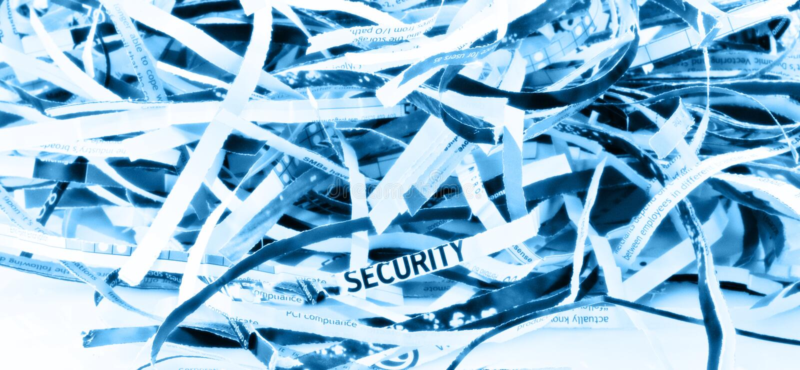 shredded бумага стоковые изображения rf