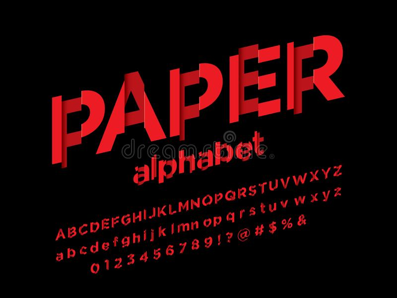 Shredded шрифт бесплатная иллюстрация