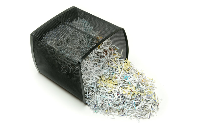Shredded royalty free stock photos