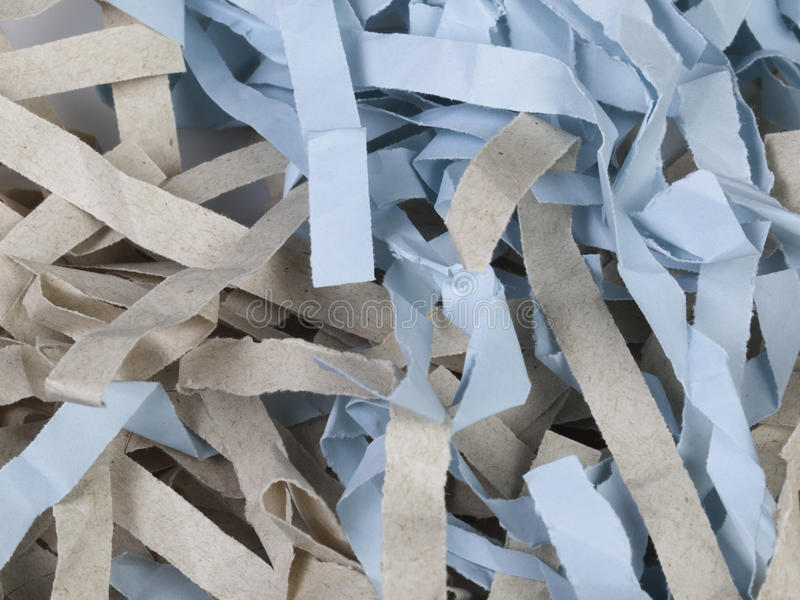 Shredded Colored Paper Royalty Free Stock Images