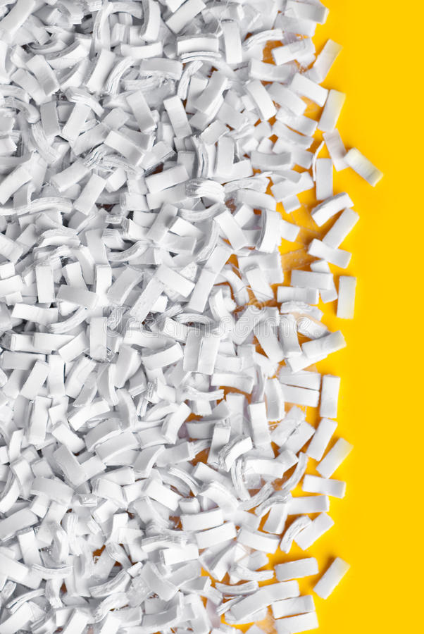 Download Shredded paper stock image. Image of abstract, disposal - 13419835
