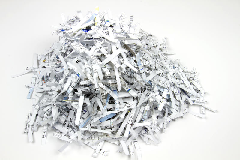 Download Shredded Paper Stock Photography - Image: 26351302