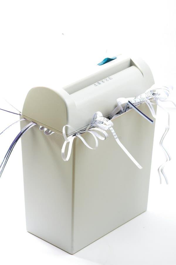Shredder de papel imagens de stock royalty free