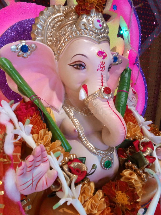 Shree Ganesh foto de stock royalty free