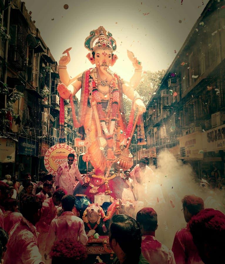 Shree Ganesh le dieu du début photographie stock libre de droits