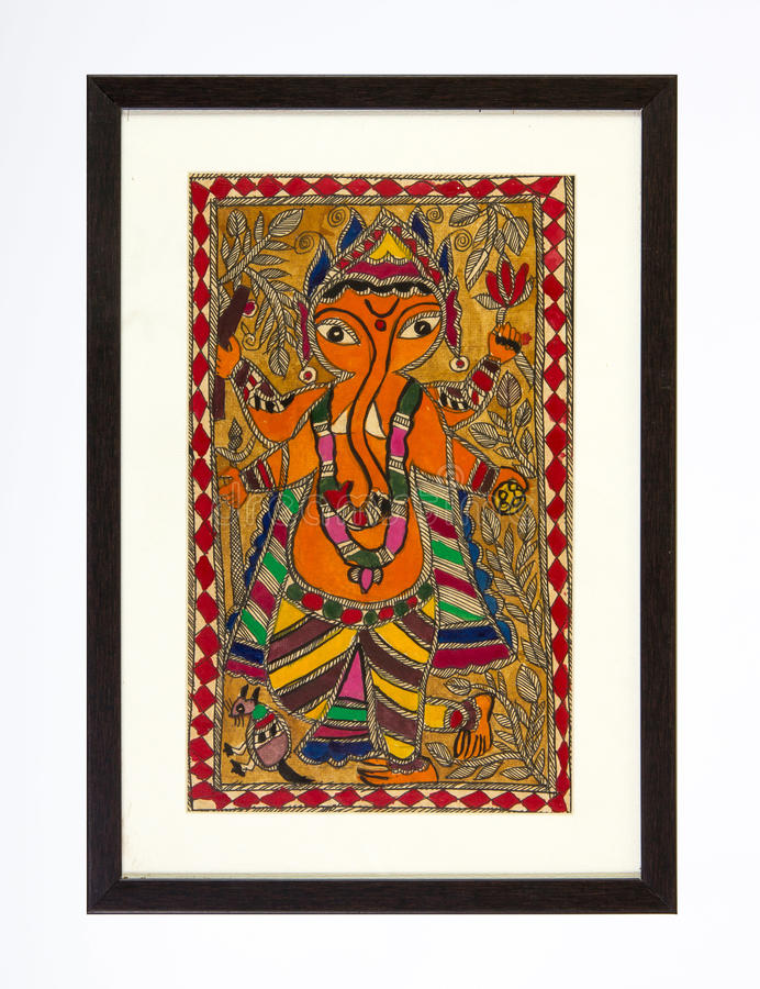 Shree Ganesha royalty free stock photos