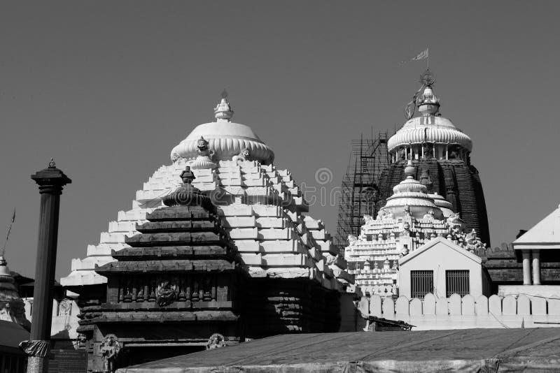 Shree Jagannath tempel på Puri i Odisha, Indien royaltyfri foto
