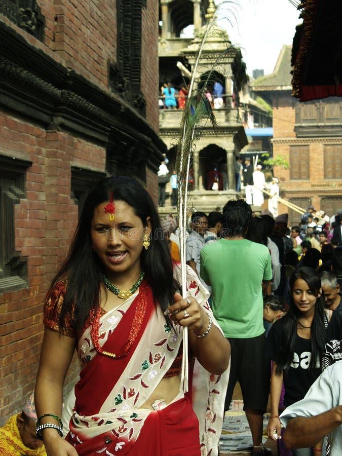 Shree Krishna Janmasthami image libre de droits