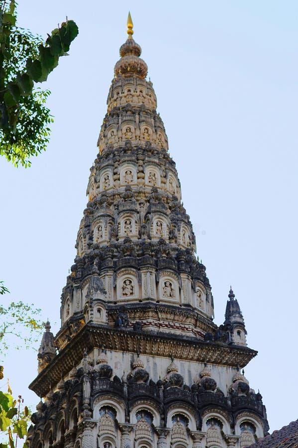 Shree Ram寺庙, Tulsi baug,浦那 免版税图库摄影