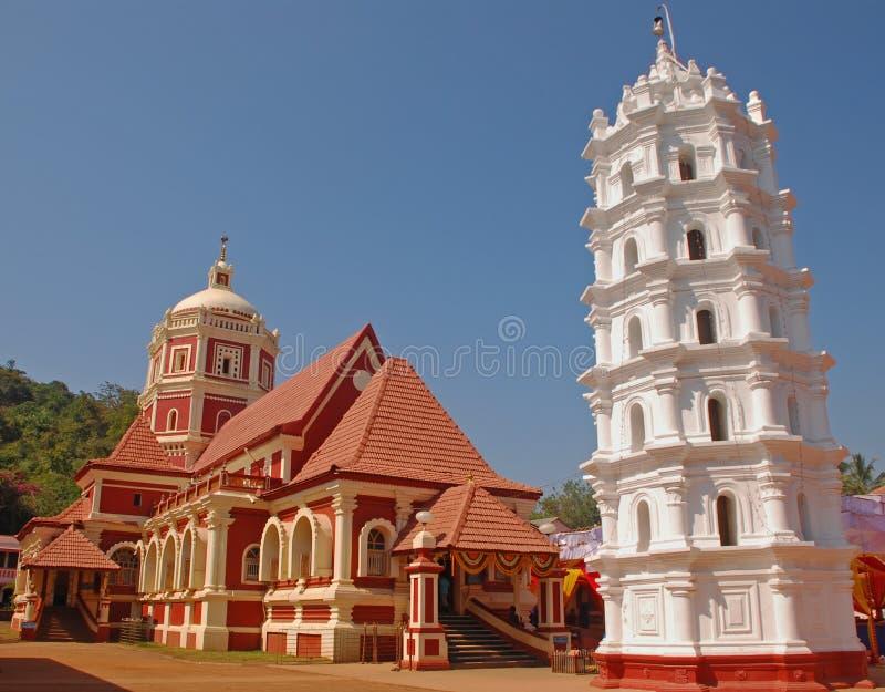 Shree Shanta Durga Temple in Goa royalty free stock photography