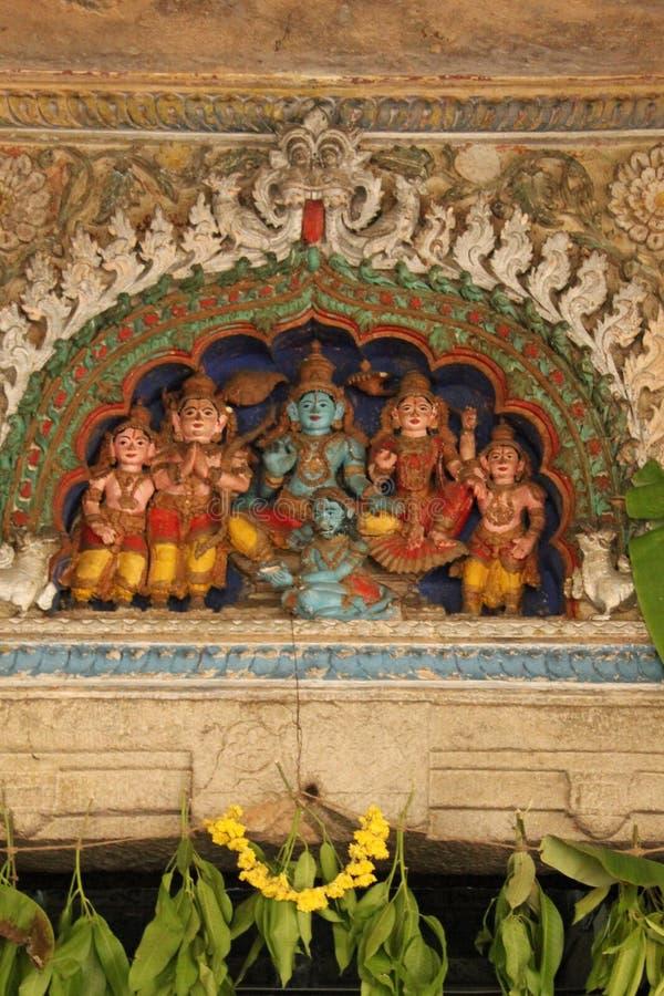 Shree Shvetha Varaha Swamy Entrance. According to the Archaeological Survey of India, the Shveta Varahaswamy temple was constructed in the Hoysala style during stock image