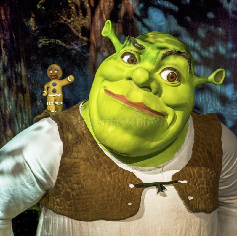 Shrek стоковая фотография