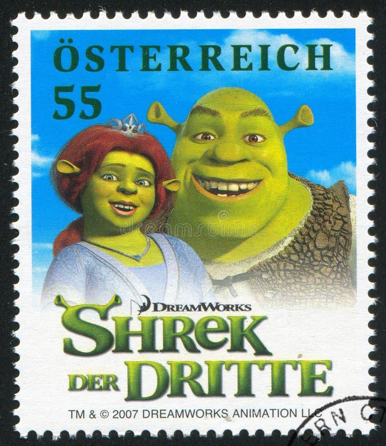 Shrek imagem de stock royalty free