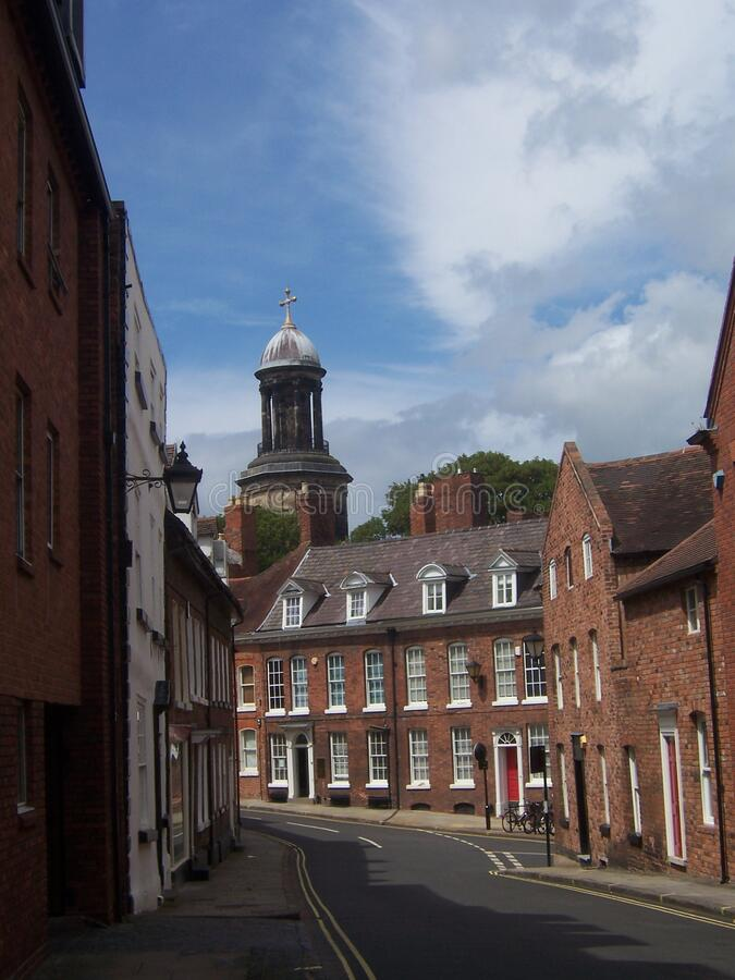Shrewsbury royalty free stock photo
