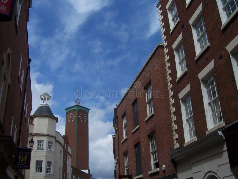 Shrewsbury royalty free stock image